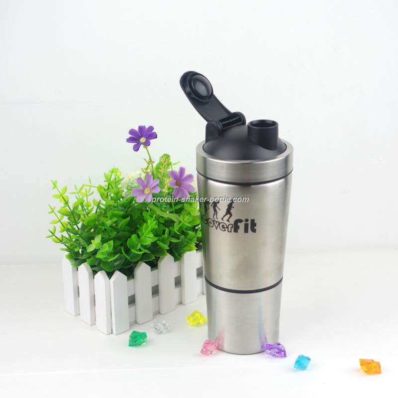 Double Wall Stainless Steel Shaker Bottle
