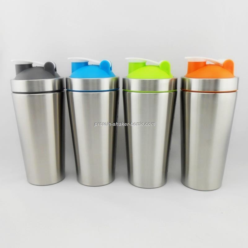 stainless steel blender shaker bottle