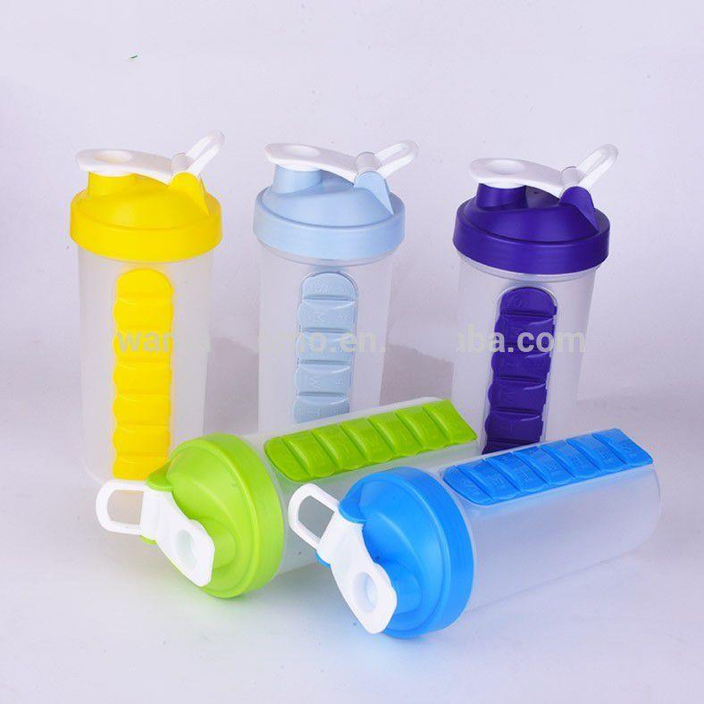 shaker bottle manufacturer best protein bottles with pill box