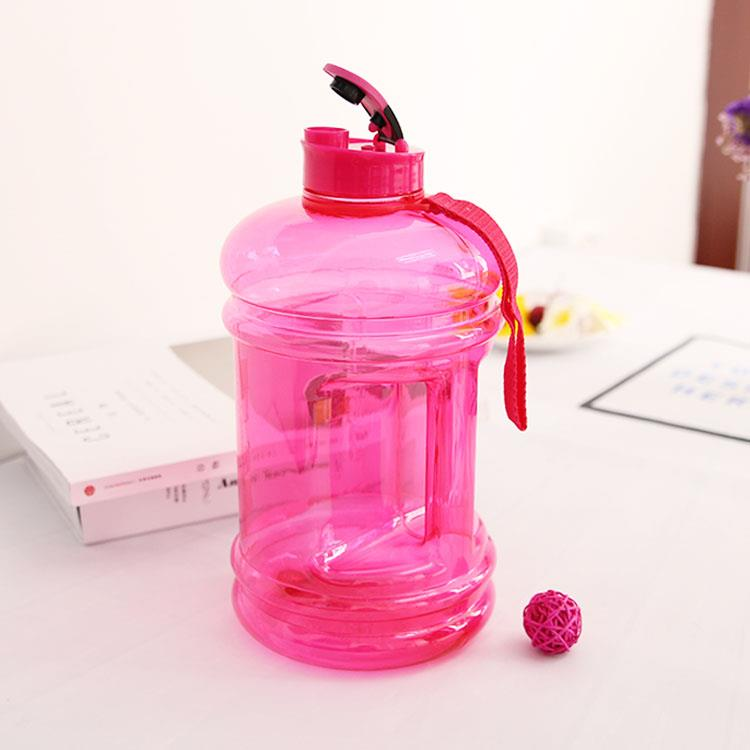 2.2l big capacity body building plastic water jug