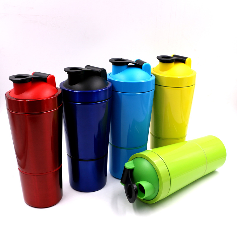 304 stainless steel shaker bottle wholesale bpa free custom logo protein shaker bottles