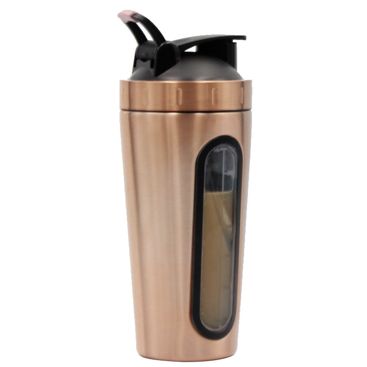 700ml Stainless Steel custom Sport Bottle protein Shaker Bottle