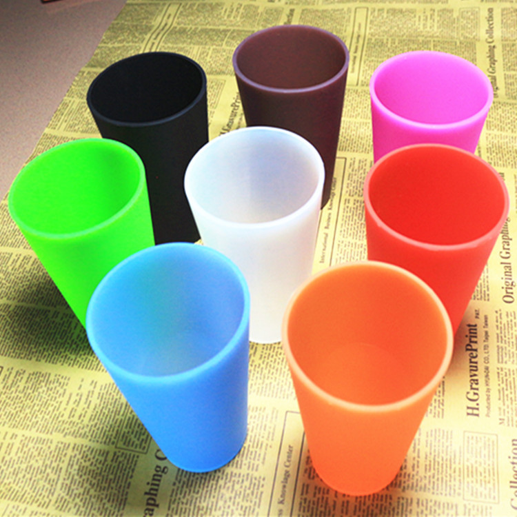 retractable folding collapsible coffee silicone wine cup