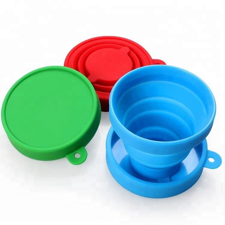 BPA Free Foldable Silicone Collapsible Cup