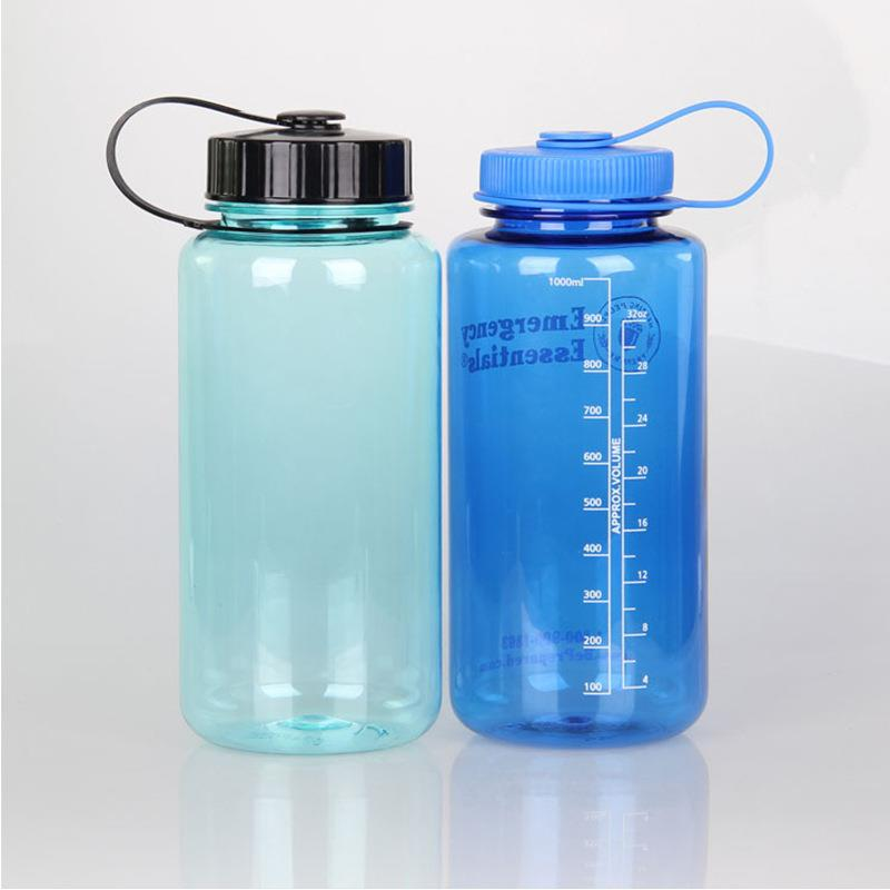 Tritan 32oz Wide Mouth Custom BPA free Clear Water Bottle