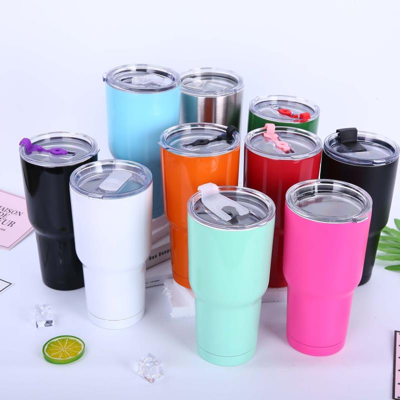 2018 OEM travel tumbler mug 30oz stainless steel cups