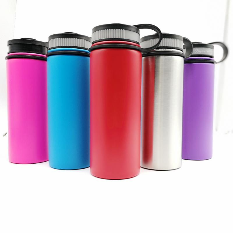 Double Wall Insulated Custom Stainless Steel Water Bottle