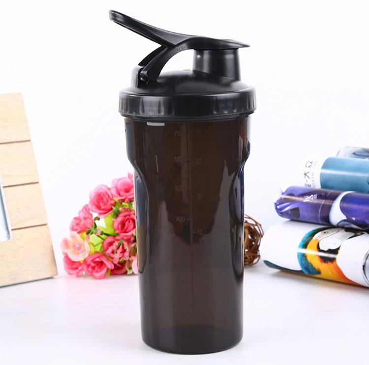 Protein Mixer Cup Shake Shaker Water Bottle with ball