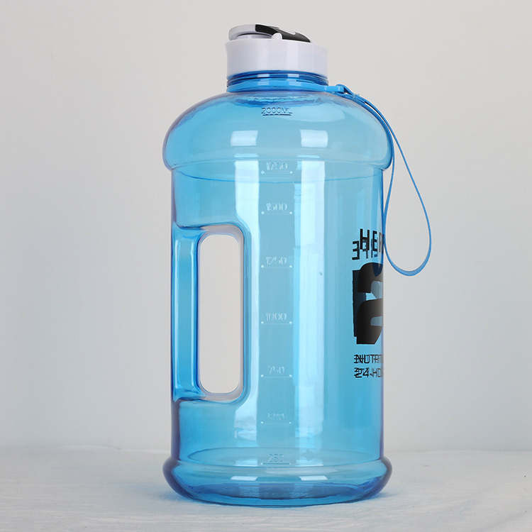Sport Water Bottle Water Jug 2.2L Big e BPA Free Sport Gym Training Drink Water Cup