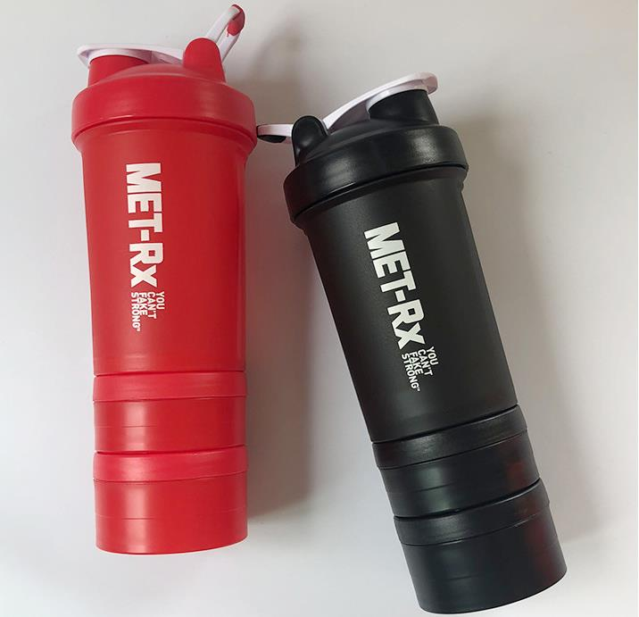 Shaker Bottle Customized bottle with pill compartment
