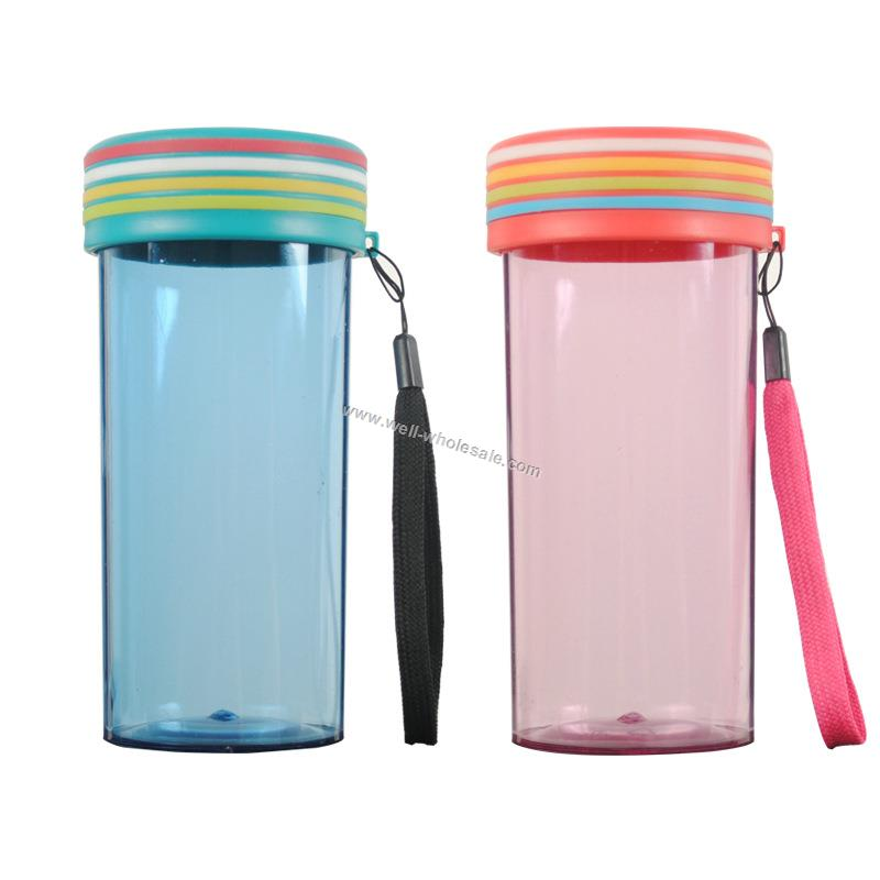 plastic bottle advertising cup