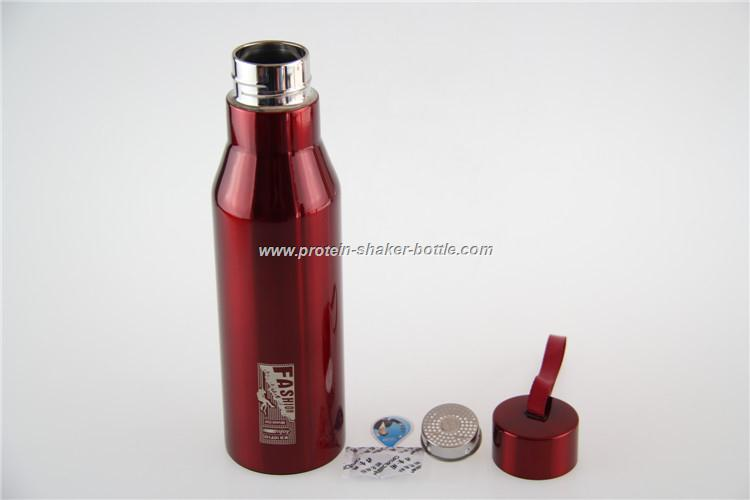 High quality single wall stainless steel sports bottle
