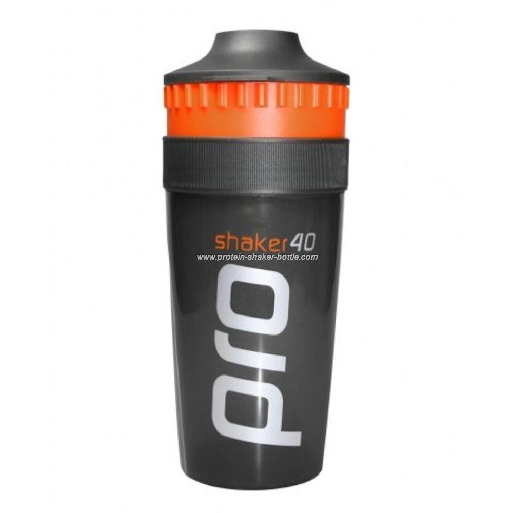 Ultimate sport nutrition plastic protein shaker bottle