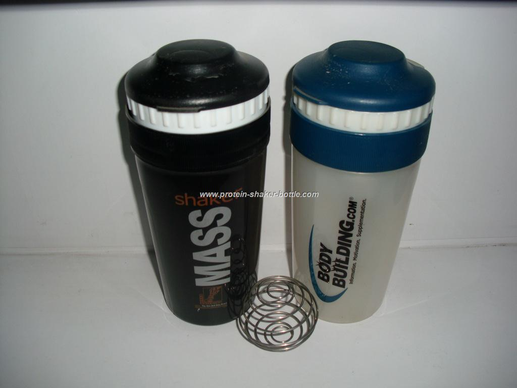 Eco-friendly sports bottle 25OZ plastic protein shaker bottle