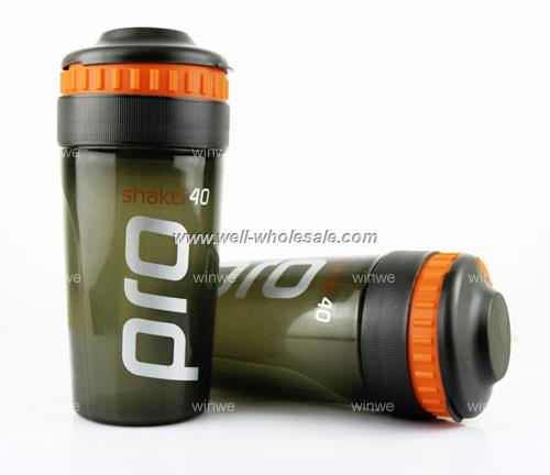 16oz/500ml plastic protein shaker bottle