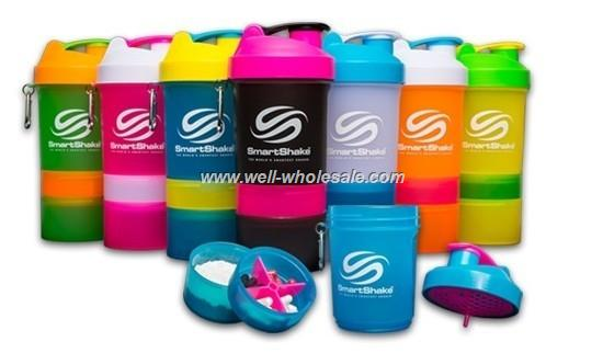 Cheap 22oz/600ml personalized spider shaker bottles