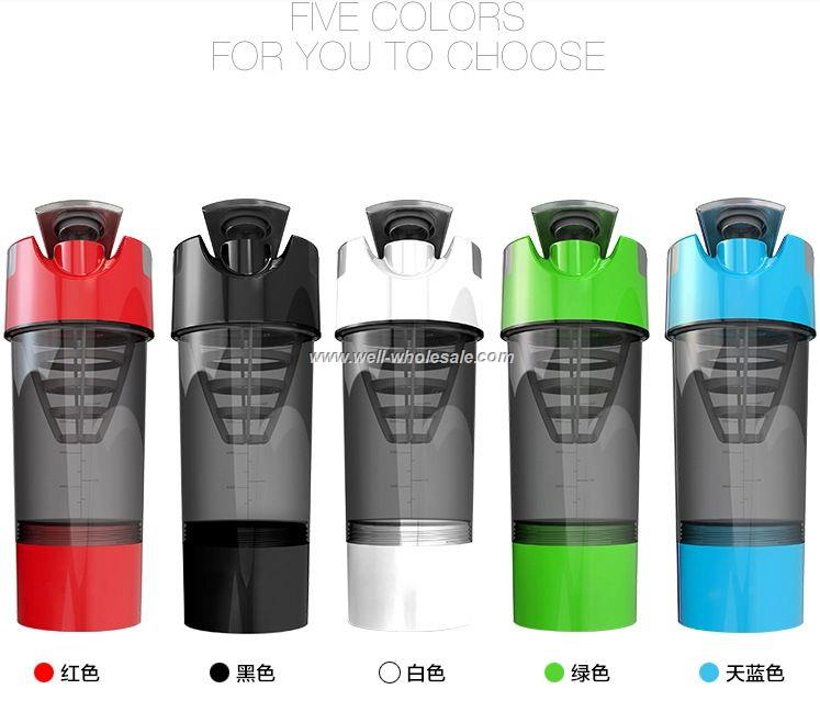 Protein cyclone shaker cup