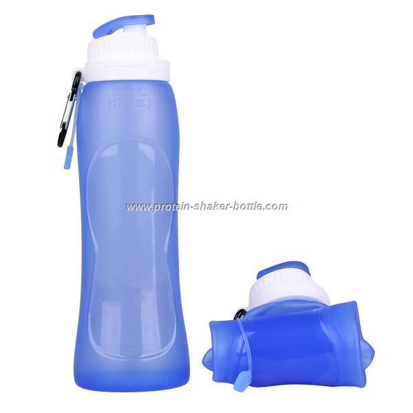 Silicone Collapsible and Portable Water Bottle