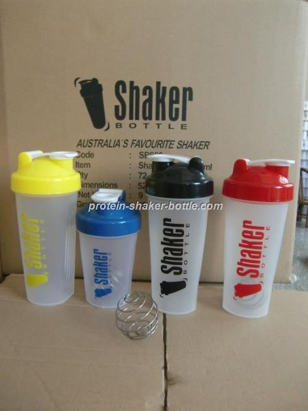 Wholesale PP custom logo shaker bottle