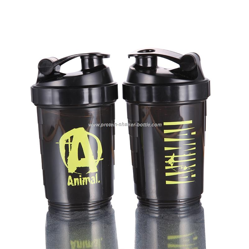 Spider Bottle Shaker Cup Blender Style Mixer Mixing Protein Shaker Bottle
