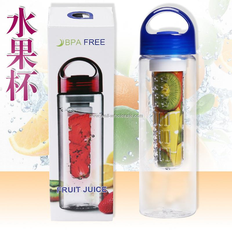 Fruit infusing water bottle 24oz