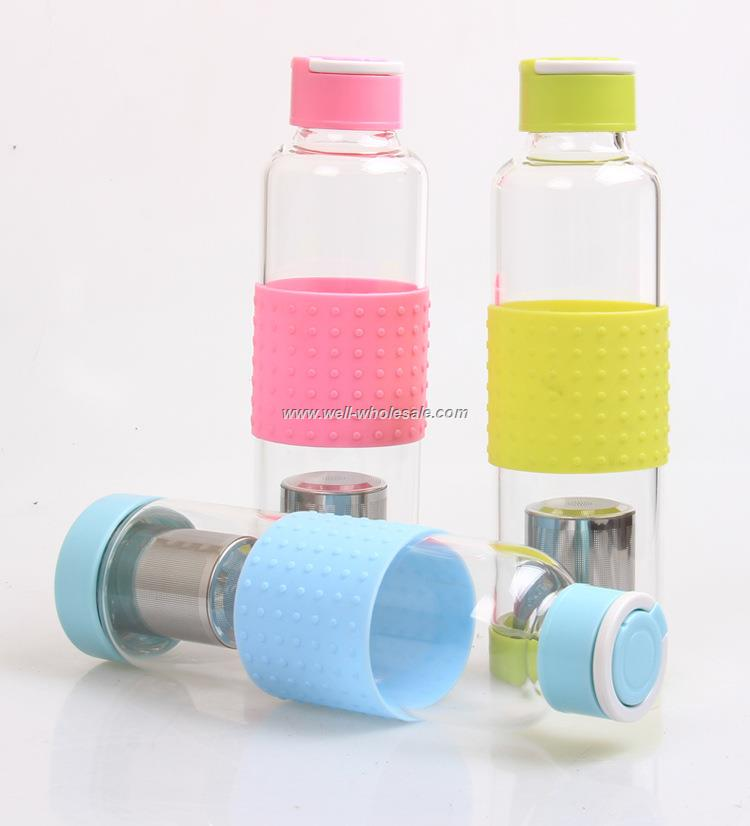 fruit infuse tritan water bottle