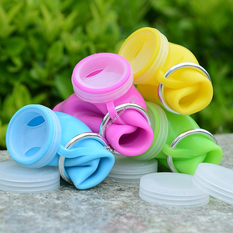 soft foldable silicone water
