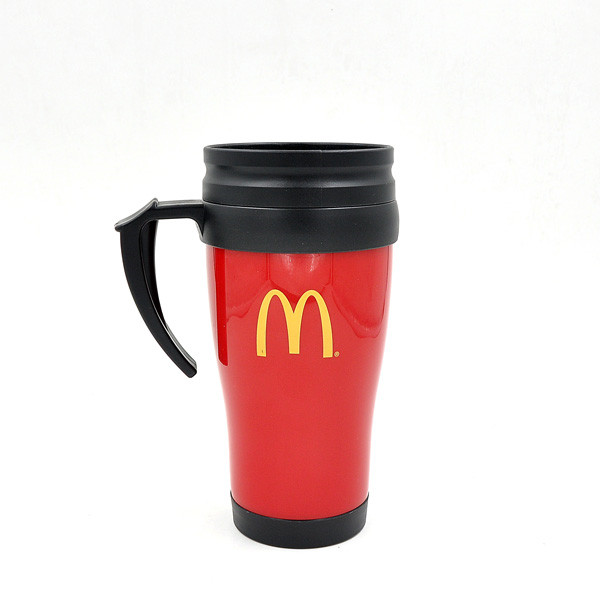 Travel coffee mug with handle China manufacturer