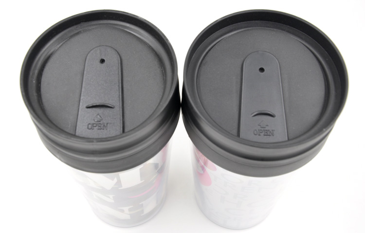 PP+PS double wall CUP