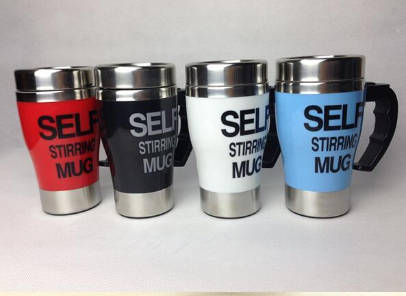 Self Stirring Coffee Mugs, Self Stirring Cup, Stainless Steel Self Stirring Mug