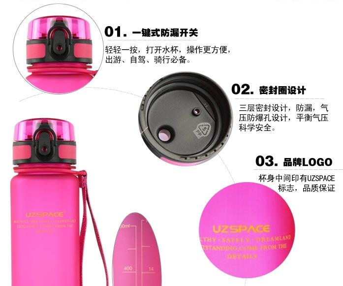 plastic water bottle,Plastic Sport Water Bottle