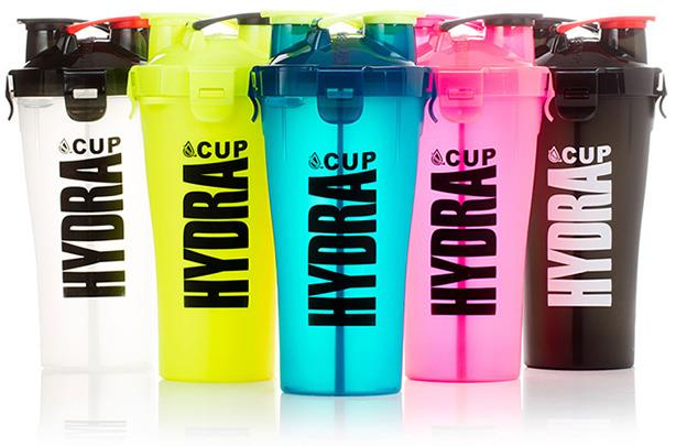 Dual Gym Sport Protein Shaker Bottle