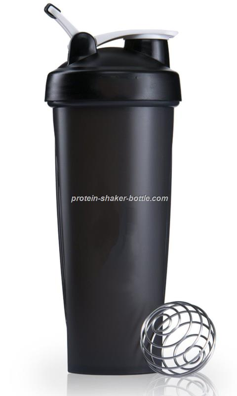 black blender bottle