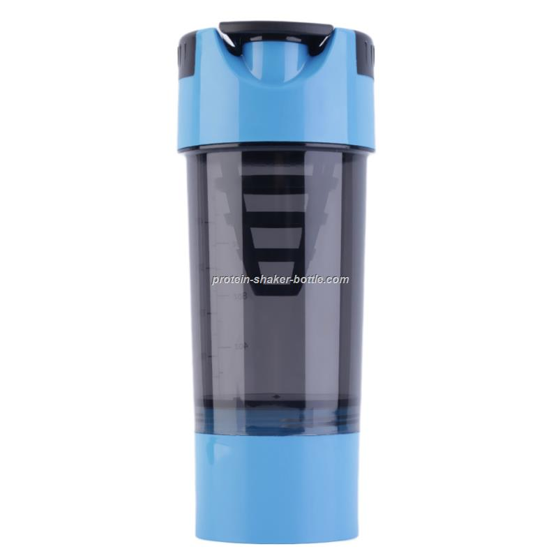 20oz Cup Bottle Gym Protein Shaker with Compartment Sports Water