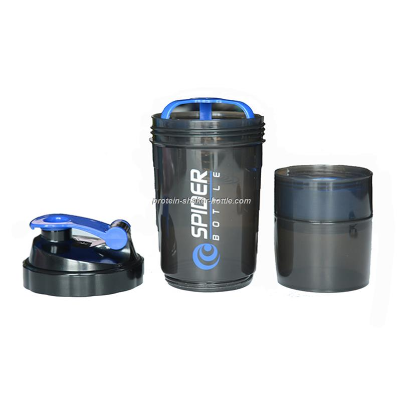 Protein Power Shaker 600ML Spider Protein Shaker 3 In 1 Sports Water