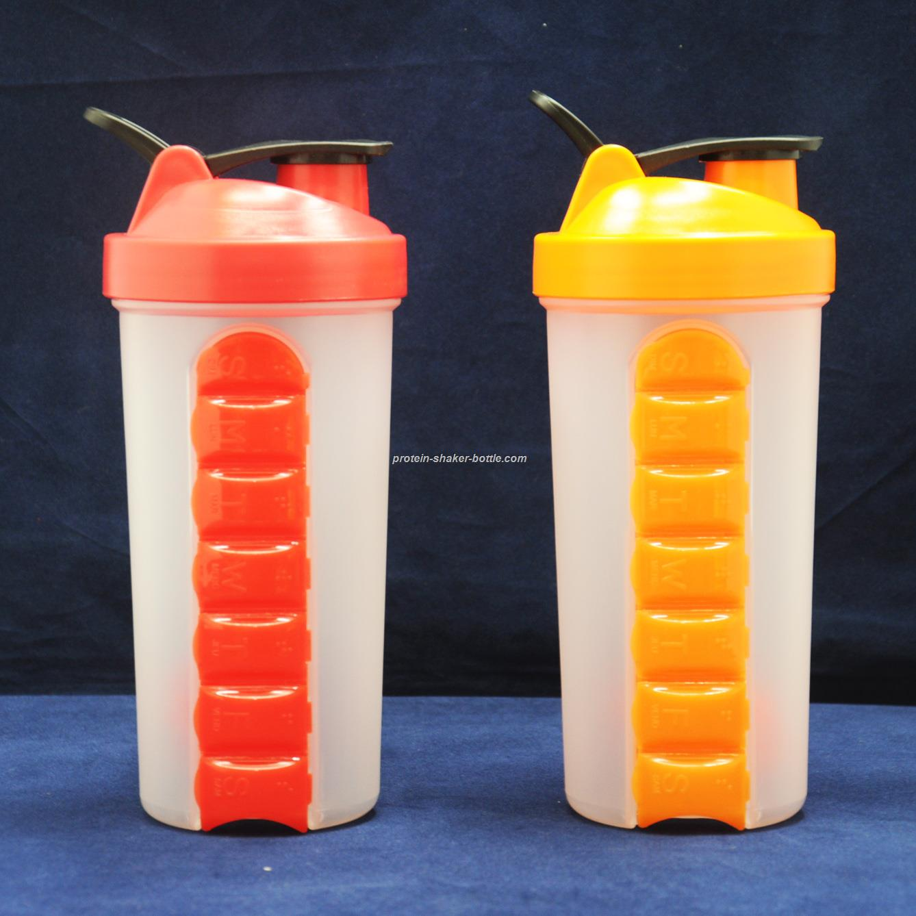 blender bottle Pill Box