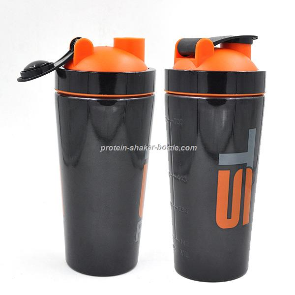 304 stainless Steel  Metal Protein Shaker Bottle