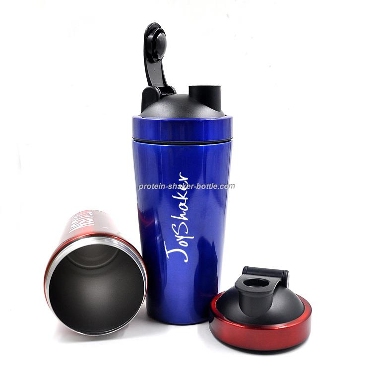 Custom Metal Stainless Steel Shaker Water Bottle