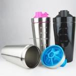Wholesale Stainless Steel Protein Shaker Bottles