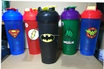 BPA eco friendly blender ball shaker bottle