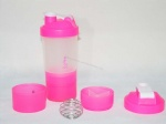 700ml shaker bottles with logo
