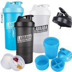 wholesale Shaker Bottle with Compartment