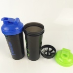 700ml Protein Shaker bottle blender mixer up with ball
