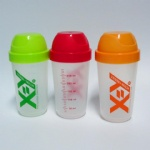 300ml BPA FREE Blender protein shaker bottle