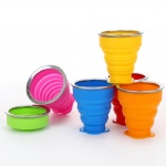 silicone coffee collapsible foldable cup cover