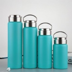 Vacuum Flask Double Wall Stainless Steel Sport Bottle