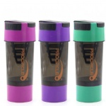 PC Gym Bottle Plastic Protein Shaker Cups
