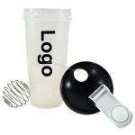 Balck Protein Shaker Bottle