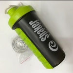 600 ML Plastic Shaker Bottle Customized Color BPA FREE