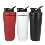 double Stainless Steel Shaker Bottle